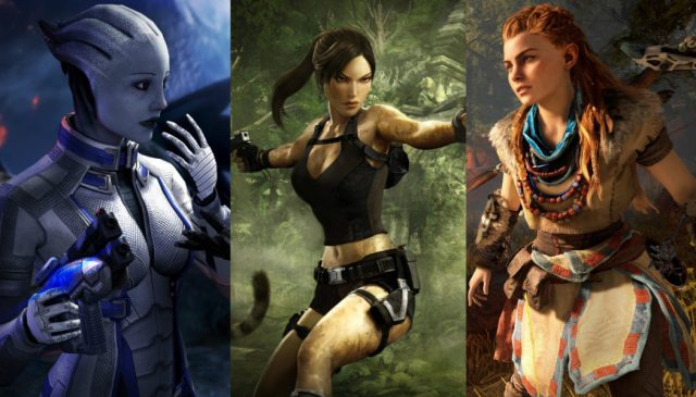 Female game characters